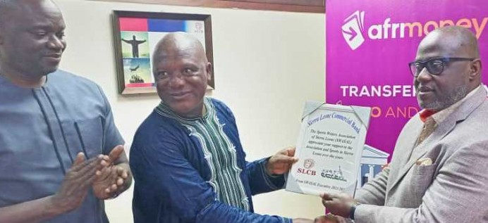 AS IT CONTINUES STRIDE TO FIGHT COVID-19… SIERRA LEONE COMMERCIAL BANK FUMIGATES ITS OFFICES