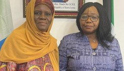 SIERRA LEONE EMBASSY IN THE STATE OF KUWAIT WELCOMES NEWLY APPOINTED COUNSELLOR