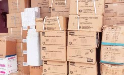 SLCB DONATES LE250 MILLION COVID-19 MEDICAL ITEMS TO 34 MILITARY HOSPITAL